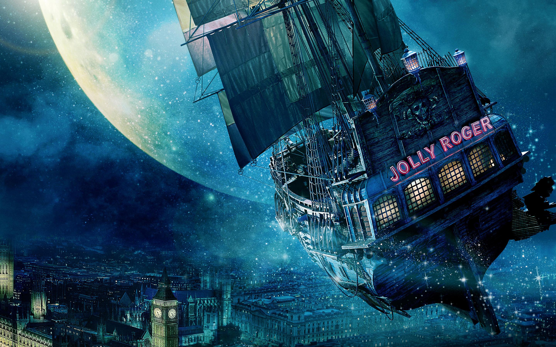 HD Wallpapers Jolly Roger Ship Peter Pan