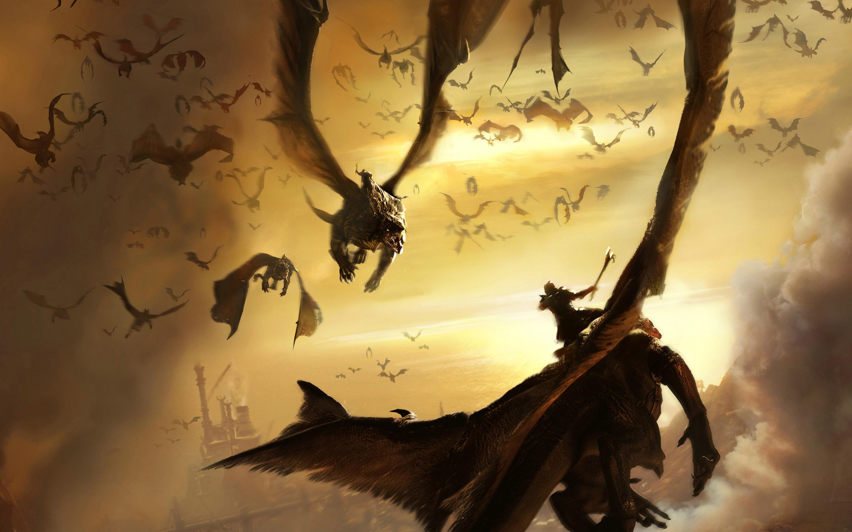 HD Wallpapers Lair Dragons