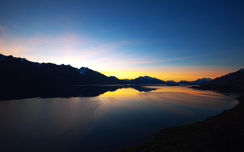 HD Wallpapers Lake Sunset