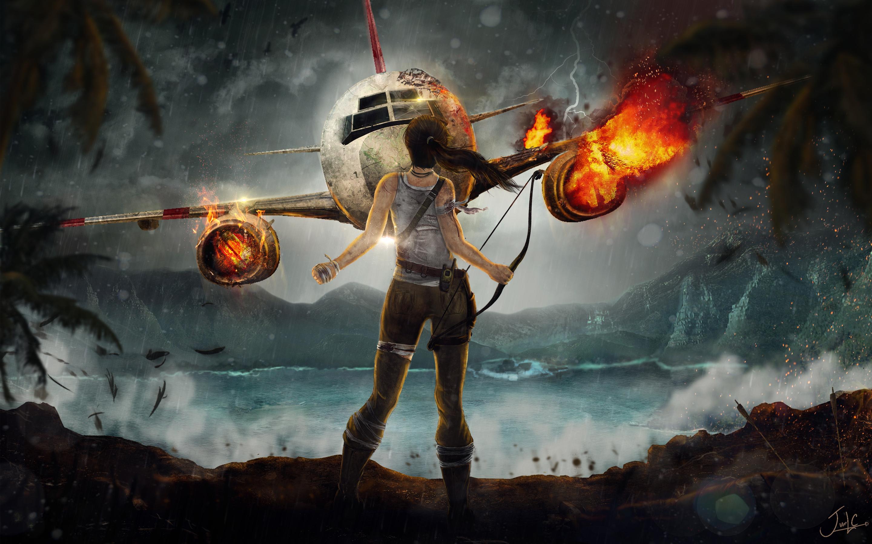 HD Wallpapers Lara Croft Adventure
