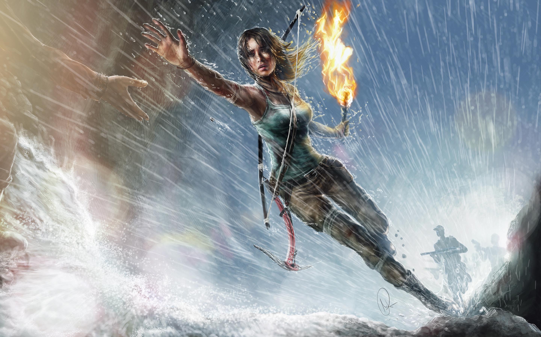 HD Wallpapers Lara Croft Artwork