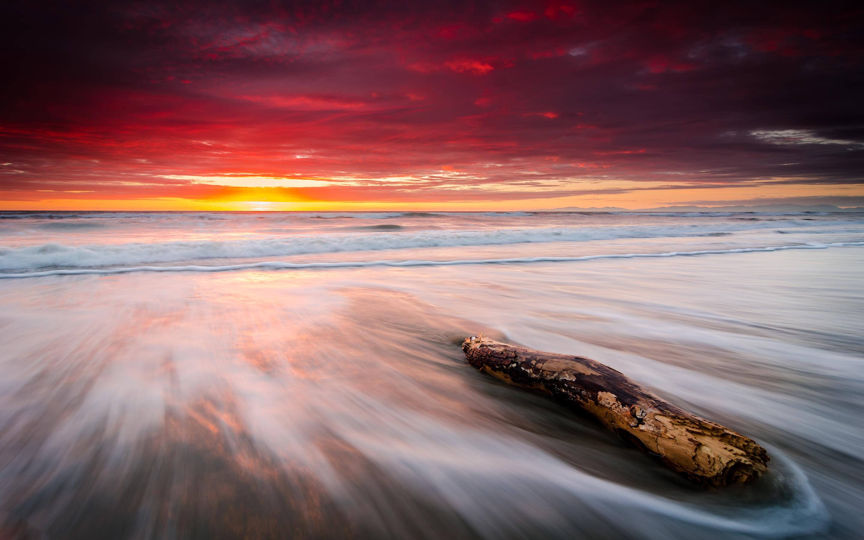 HD Wallpapers Leithfield Beach Sunrise