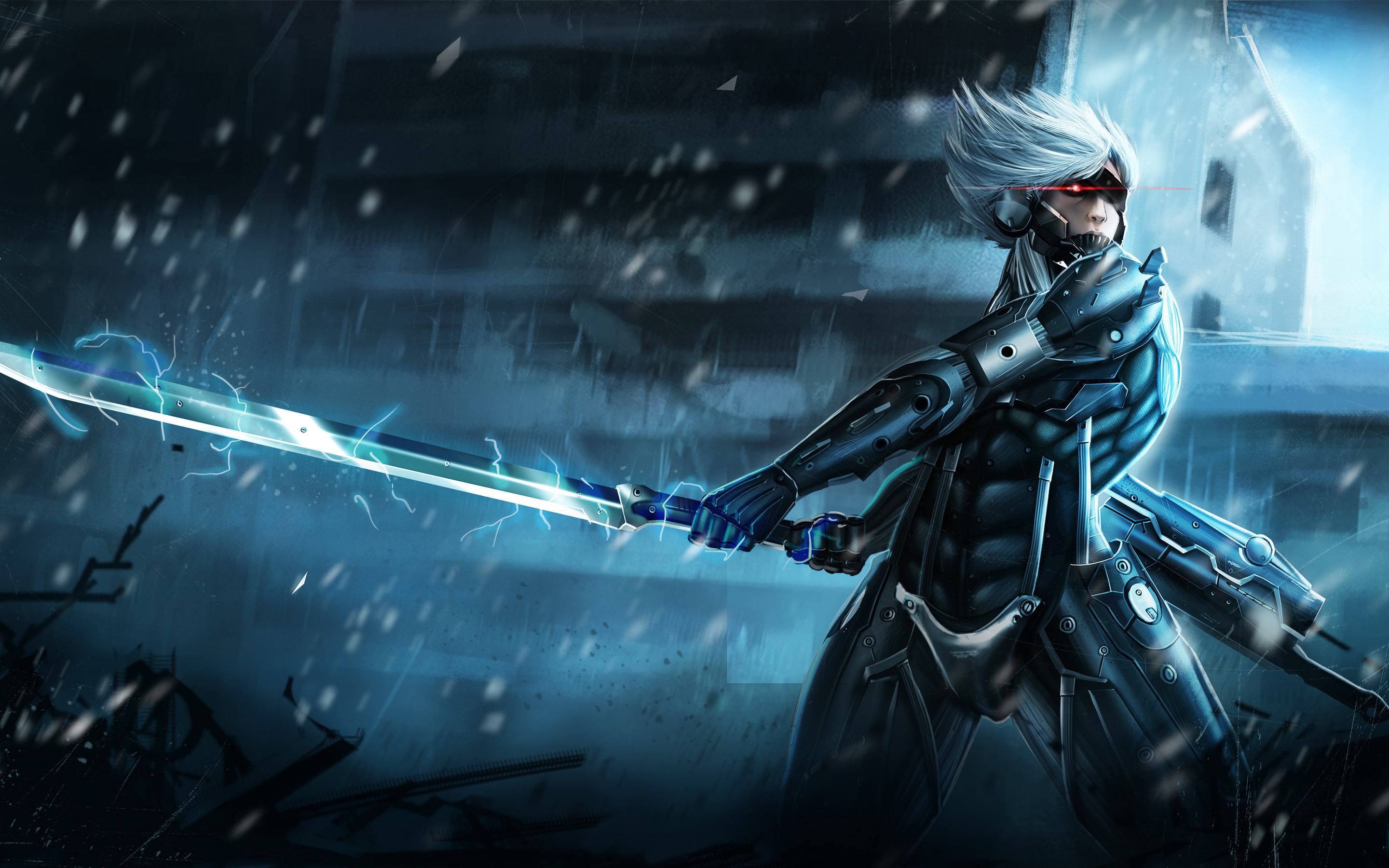 HD Wallpapers Metal Gear Rising Raiden