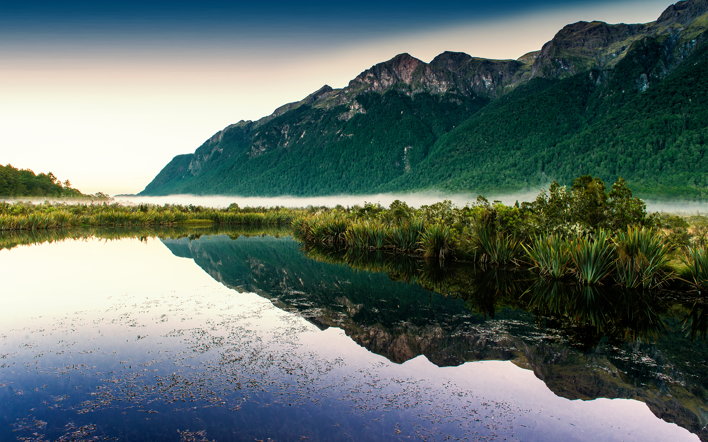 HD Wallpapers Mirror Lakes Sunlight