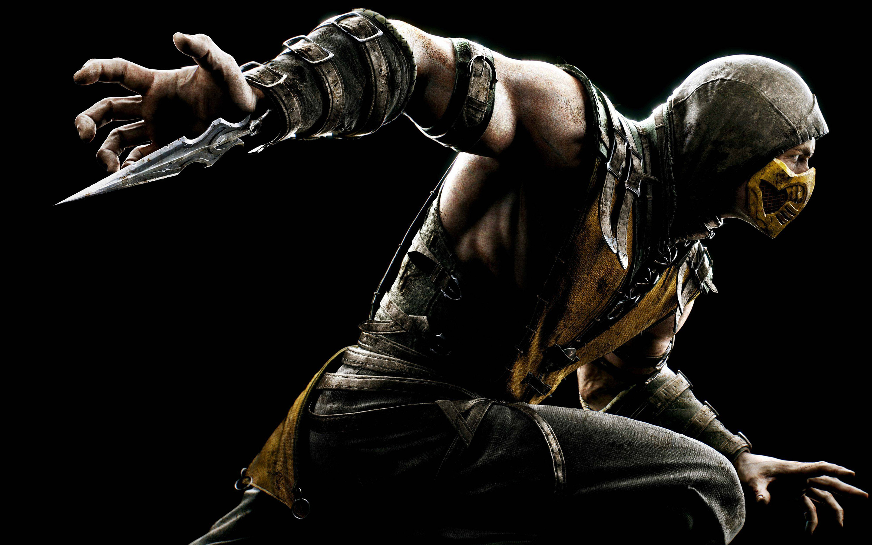 HD Wallpapers Mortal Kombat X Scorpion