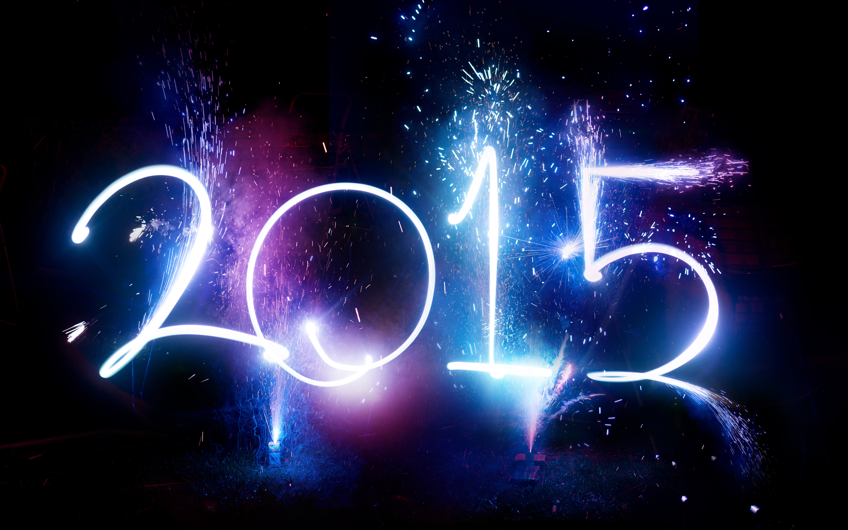 HD Wallpapers New Year 2015