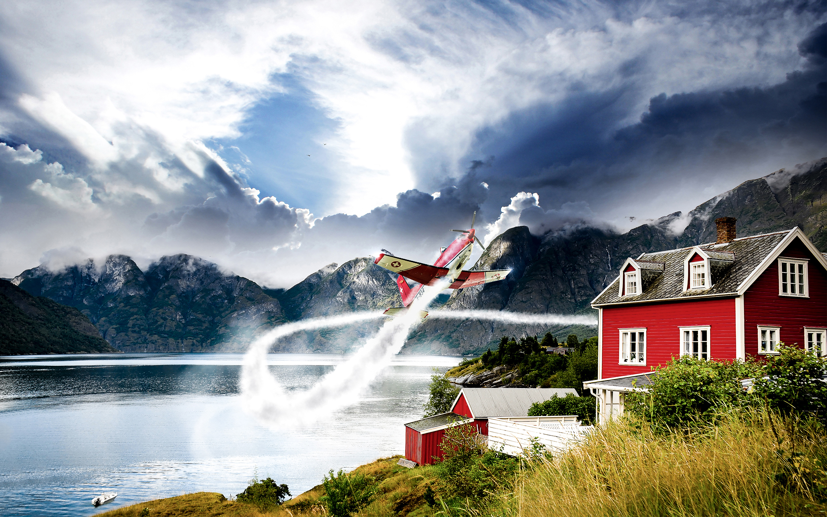 HD Wallpapers Norway Aviation