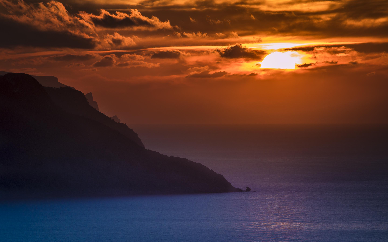 HD Wallpapers Ocean Sunset