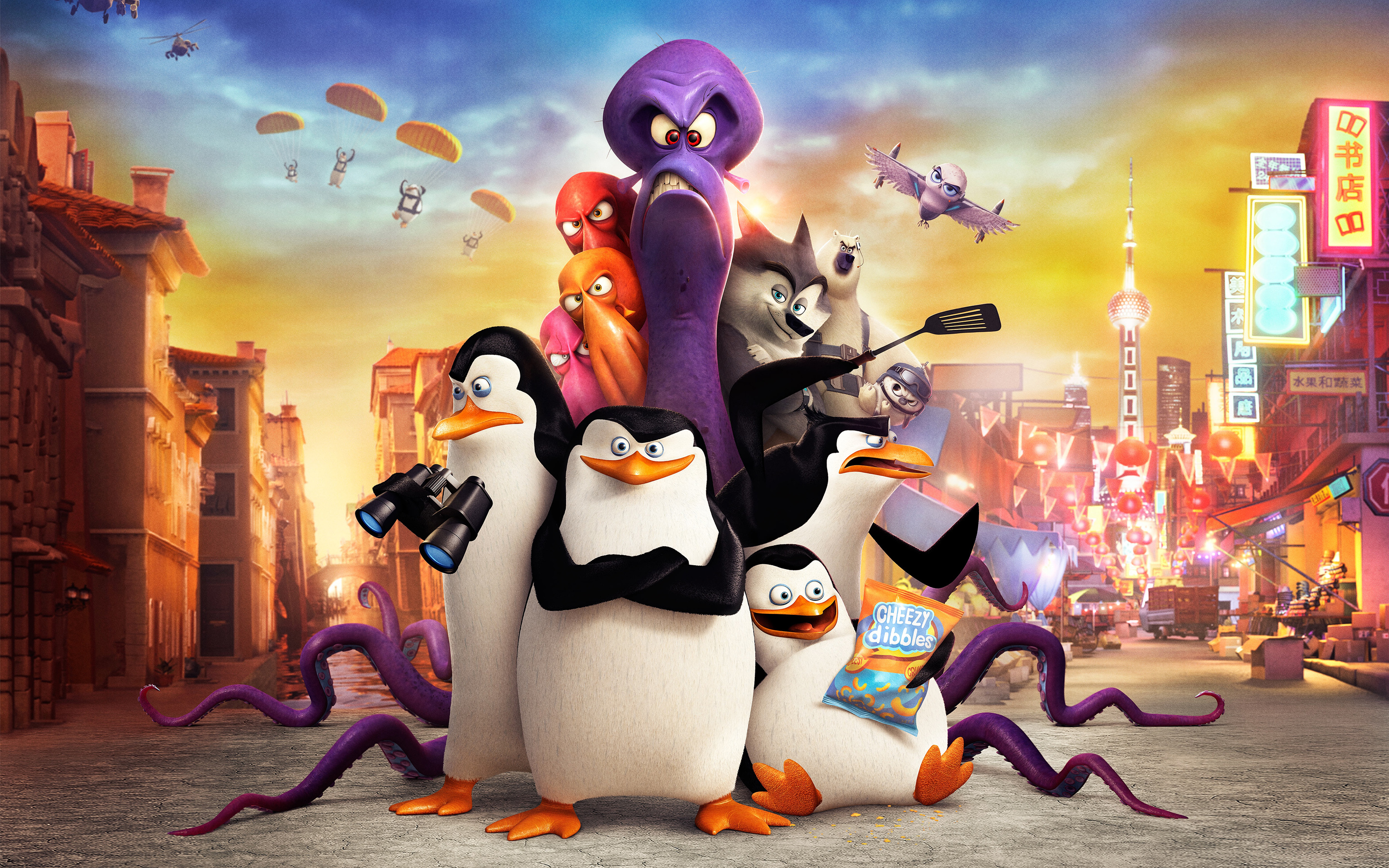 HD Wallpapers Penguins of Madagascar Movie