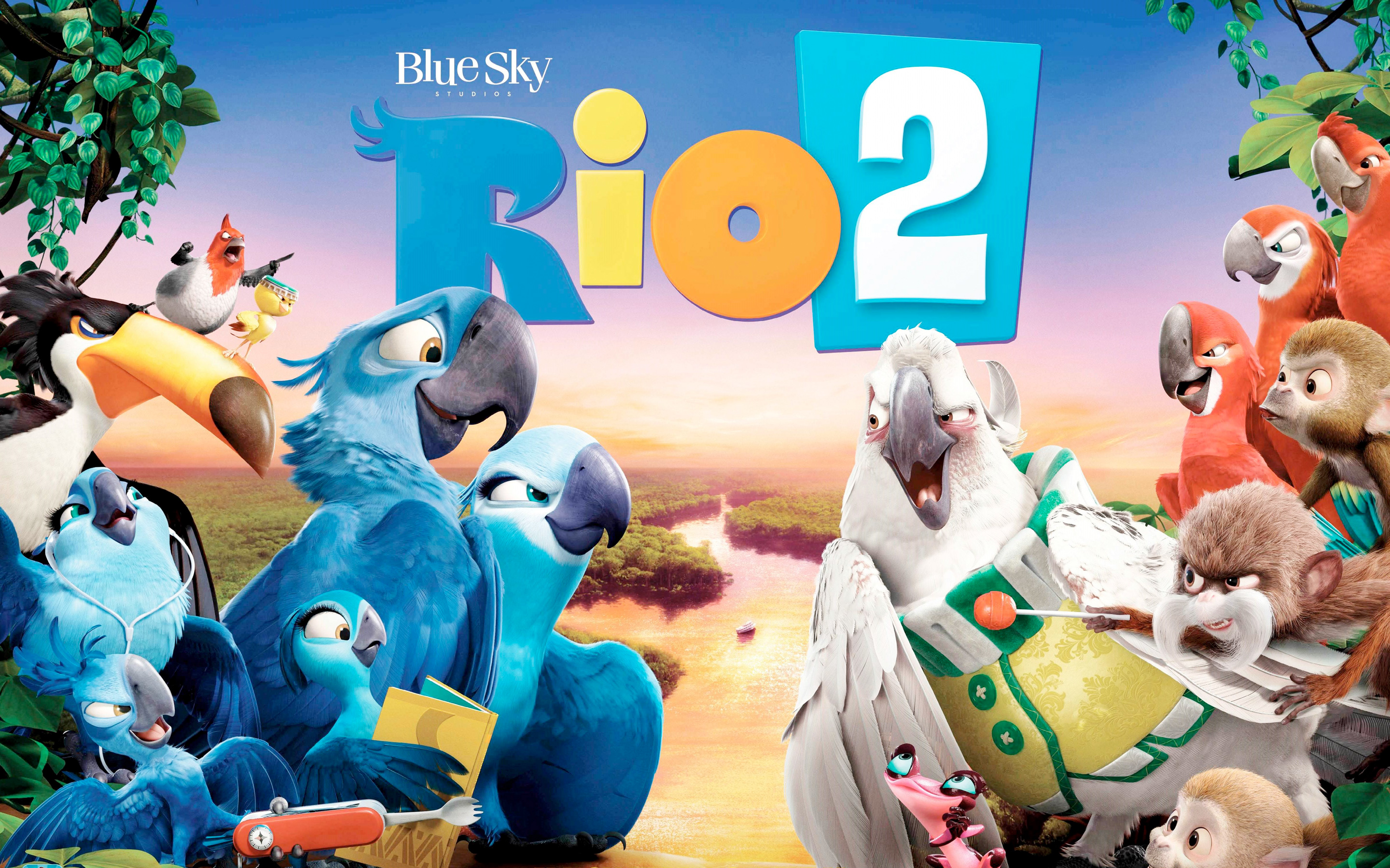 HD Wallpapers Rio 2 Movie Banner