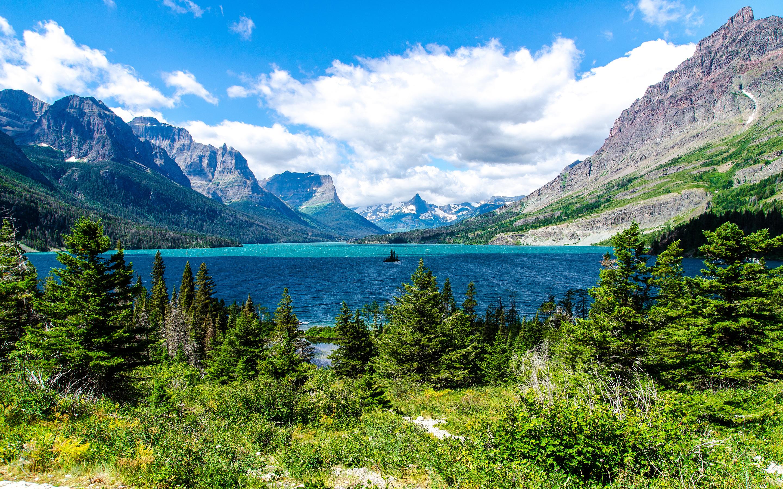 HD Wallpapers Saint Mary Lake Glacier National Park