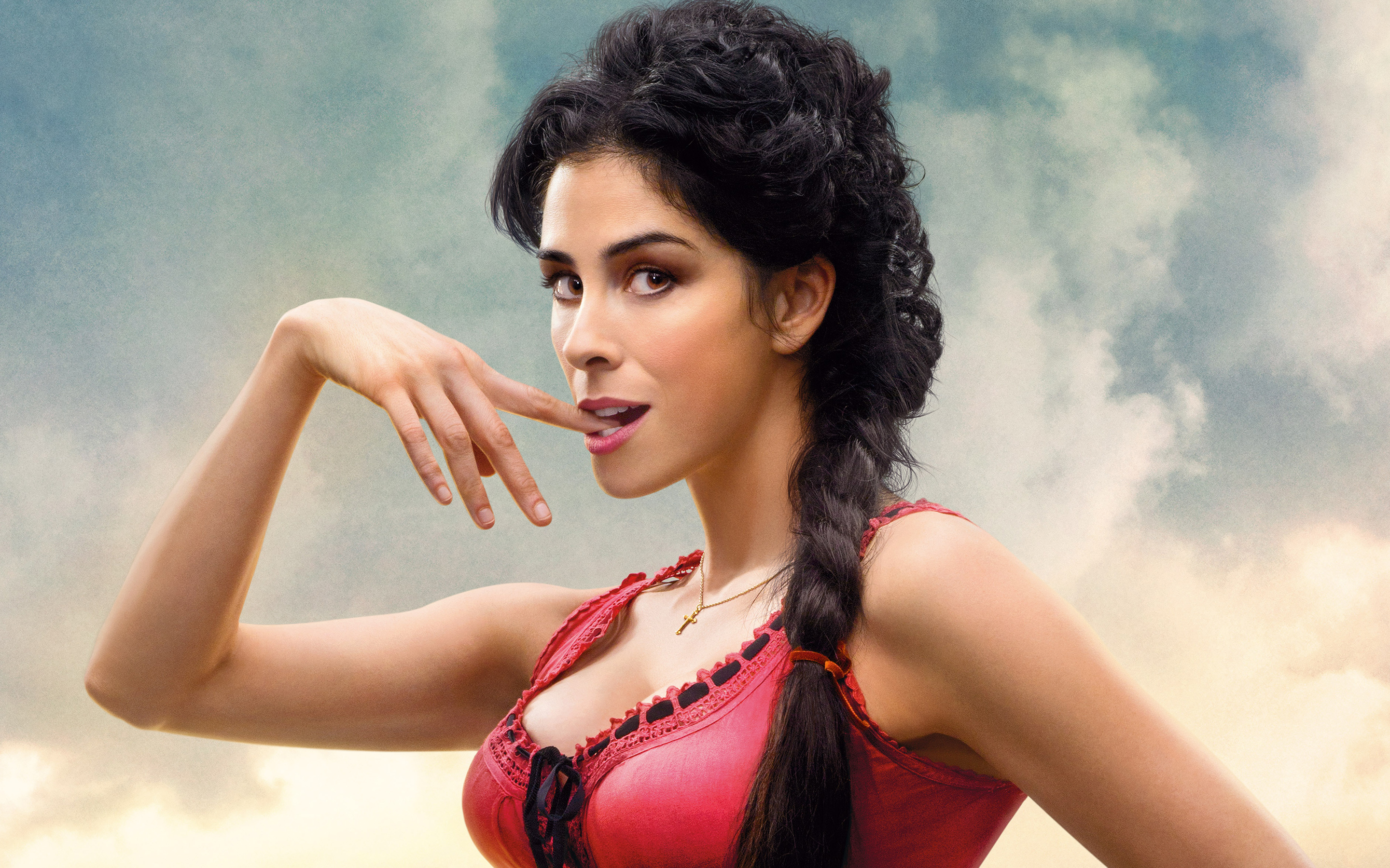 HD Wallpapers Sarah Silverman in A Million Ways to Die in the West
