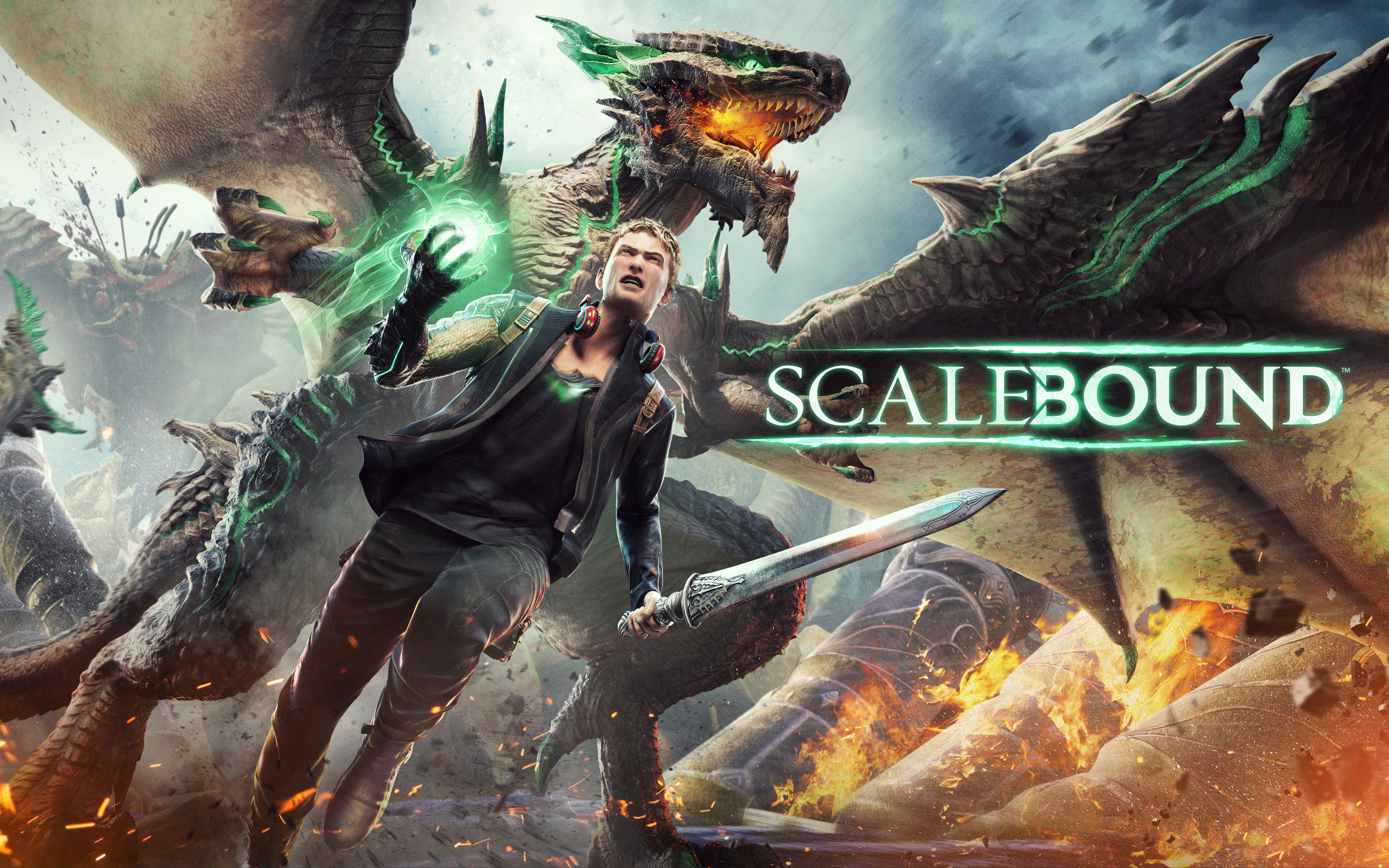 HD Wallpapers Scalebound 2016 Game