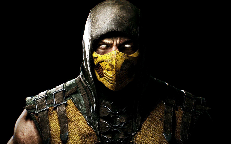 HD Wallpapers Scorpion in Mortal Kombat X