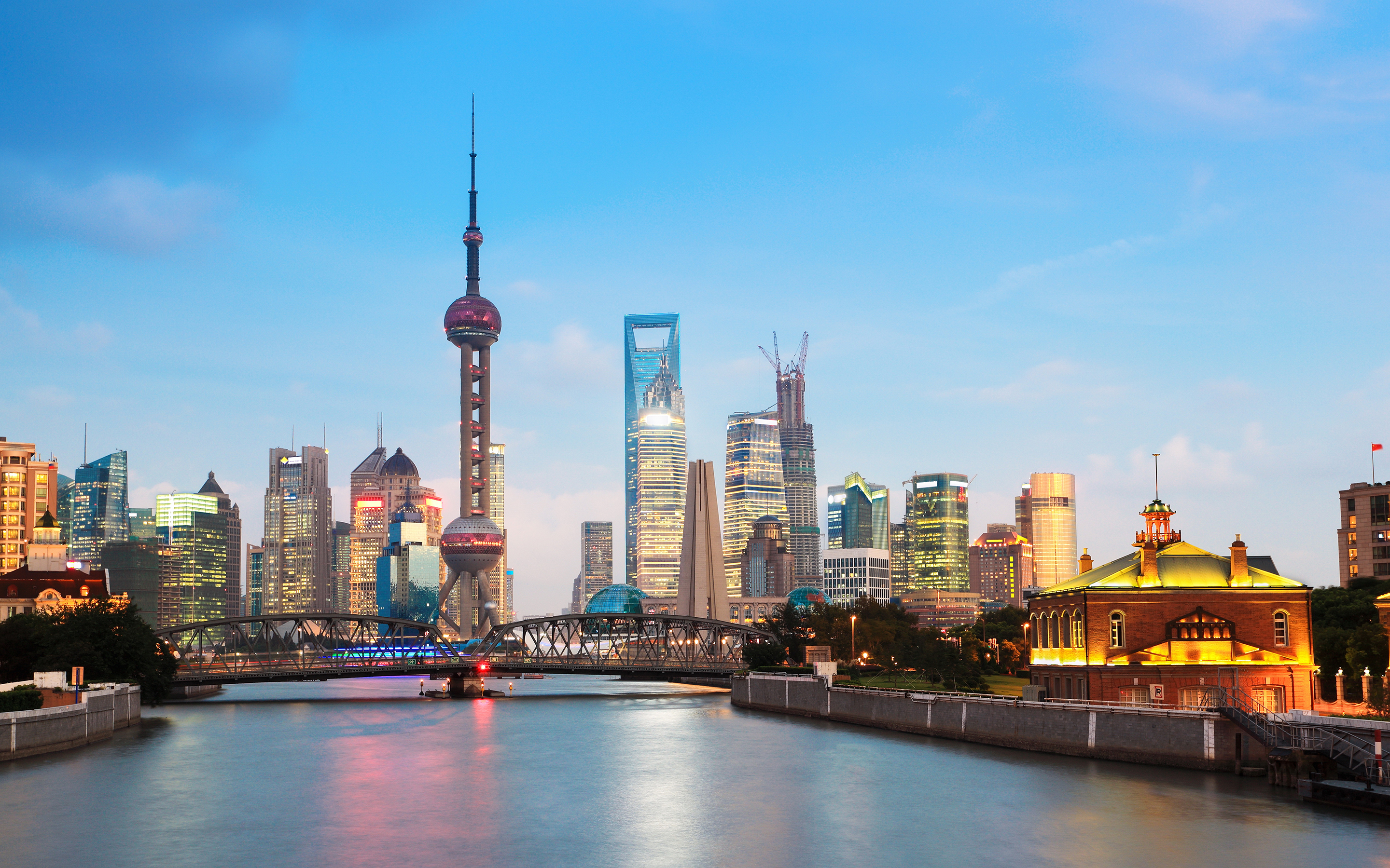HD Wallpapers Shanghai Cityscape