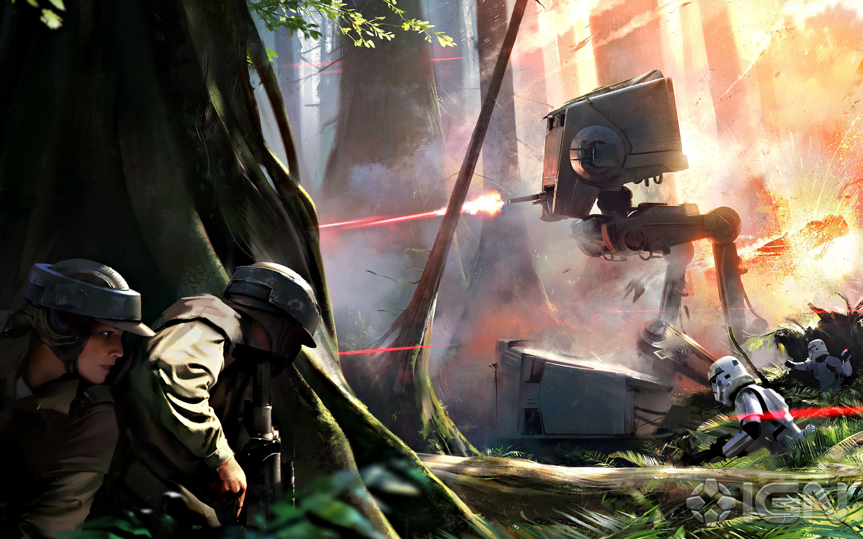 HD Wallpapers Star Wars Battlefront Game