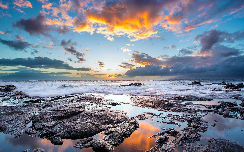 HD Wallpapers Sunset Maui Hawaiian Isl