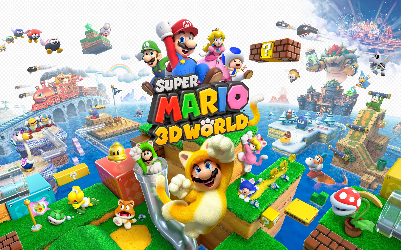 HD Wallpapers Super Mario 3D World