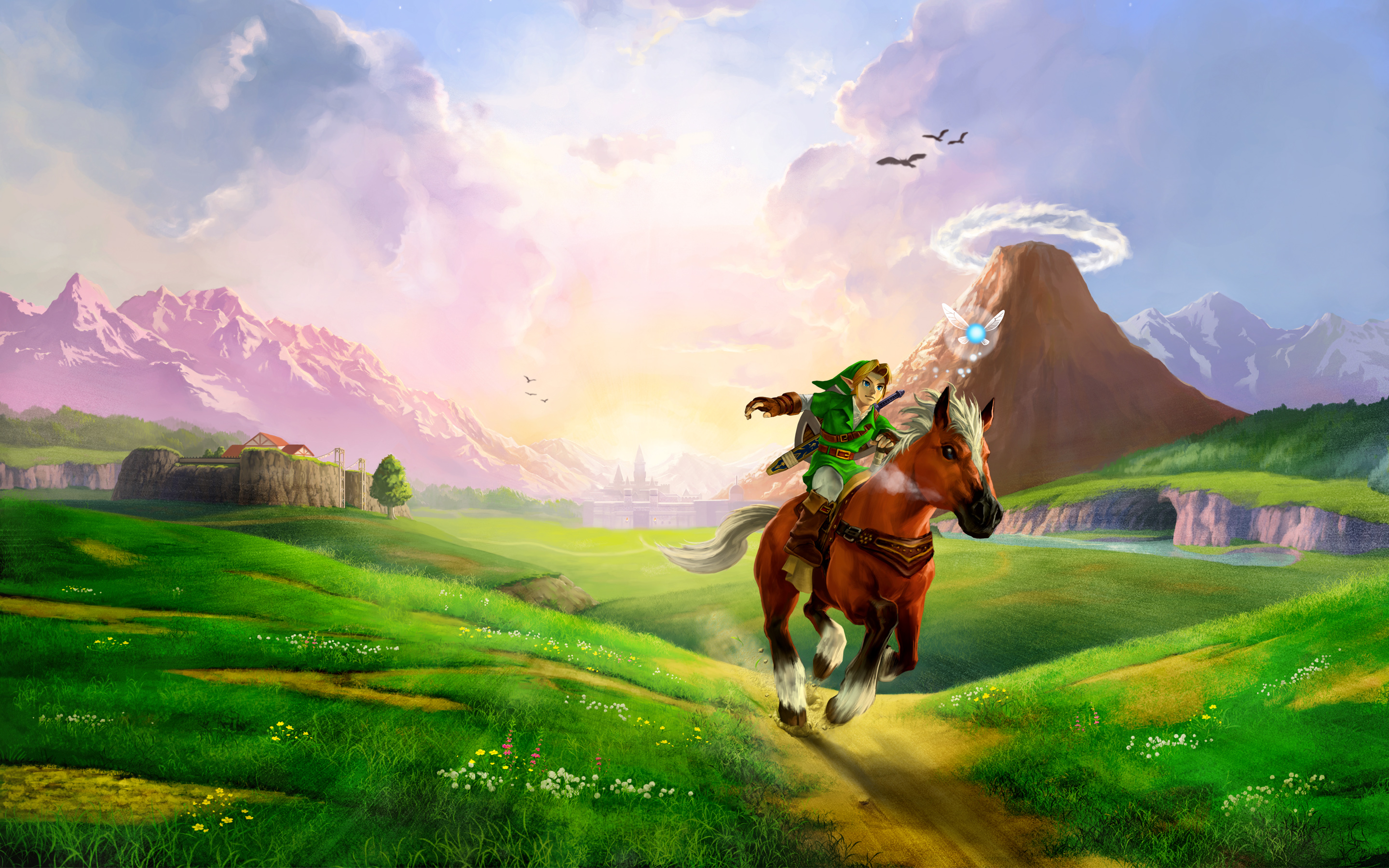 HD Wallpapers The Legend of Zelda Ocarina of Time