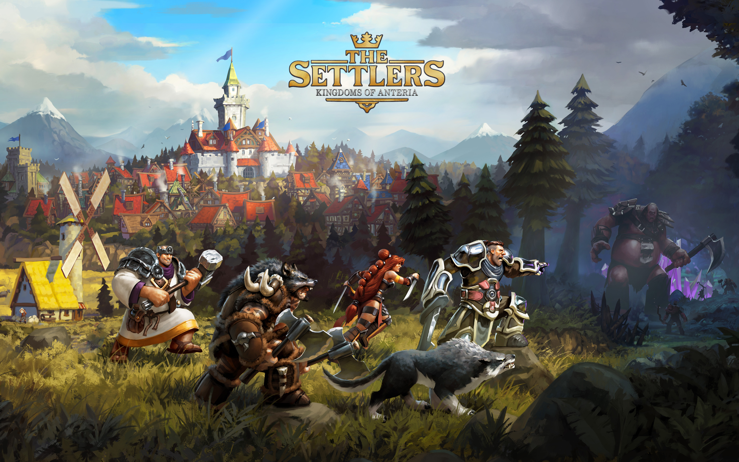 HD Wallpapers The Settlers Kingdoms of Anteria
