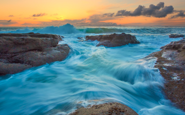 HD Wallpapers Tide Waves