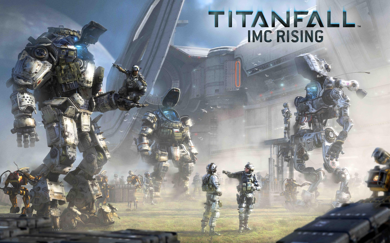 HD Wallpapers Titanfall IMC Rising