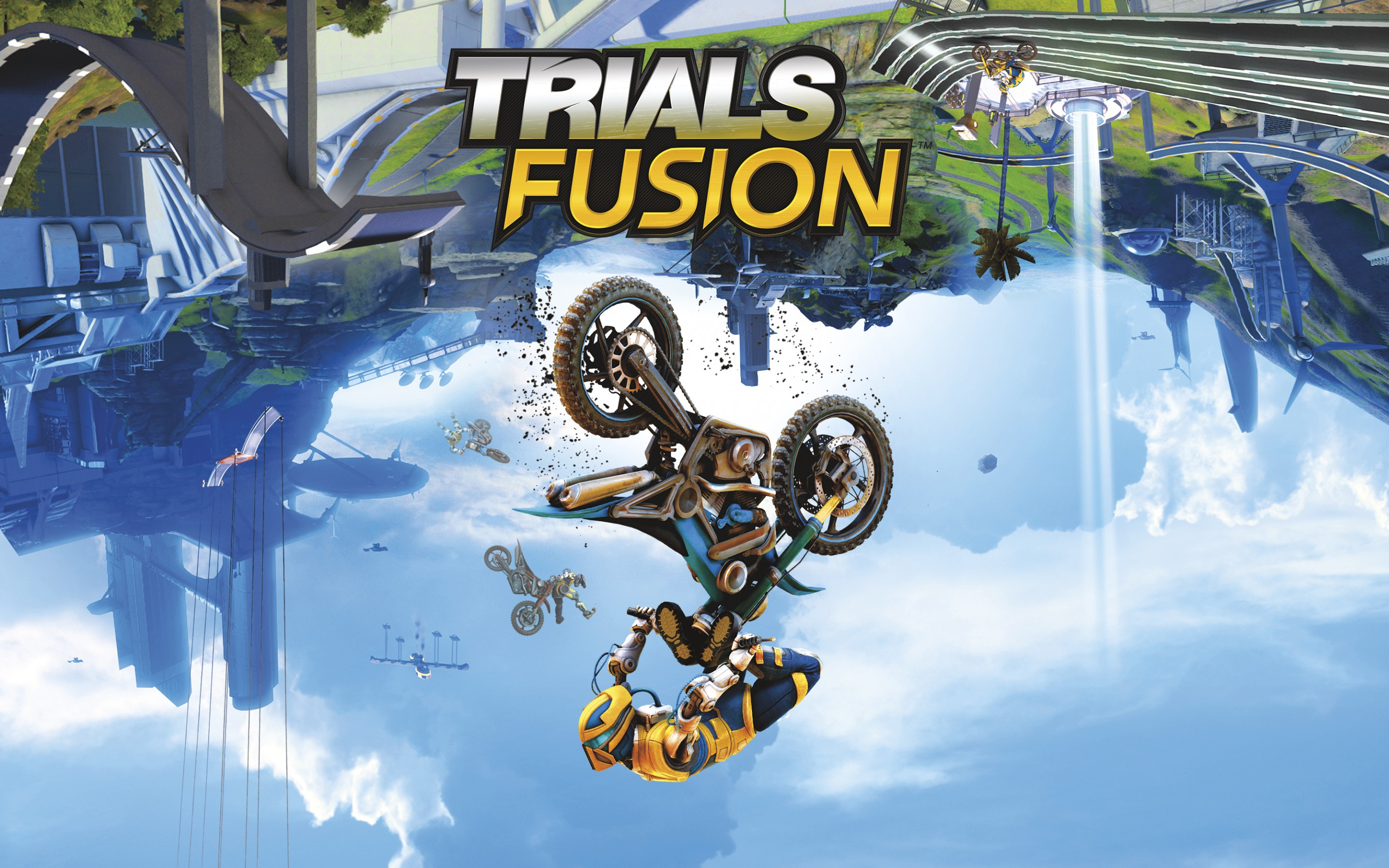 HD Wallpapers Trials Fusion Game