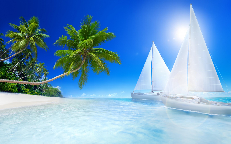 HD Wallpapers Tropical Beache