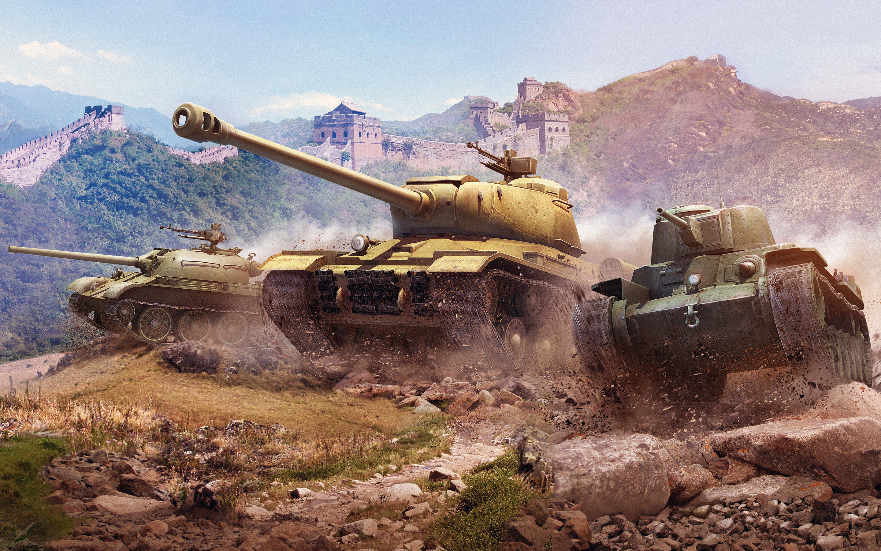 HD Wallpapers World of Tanks Chinese Tanks