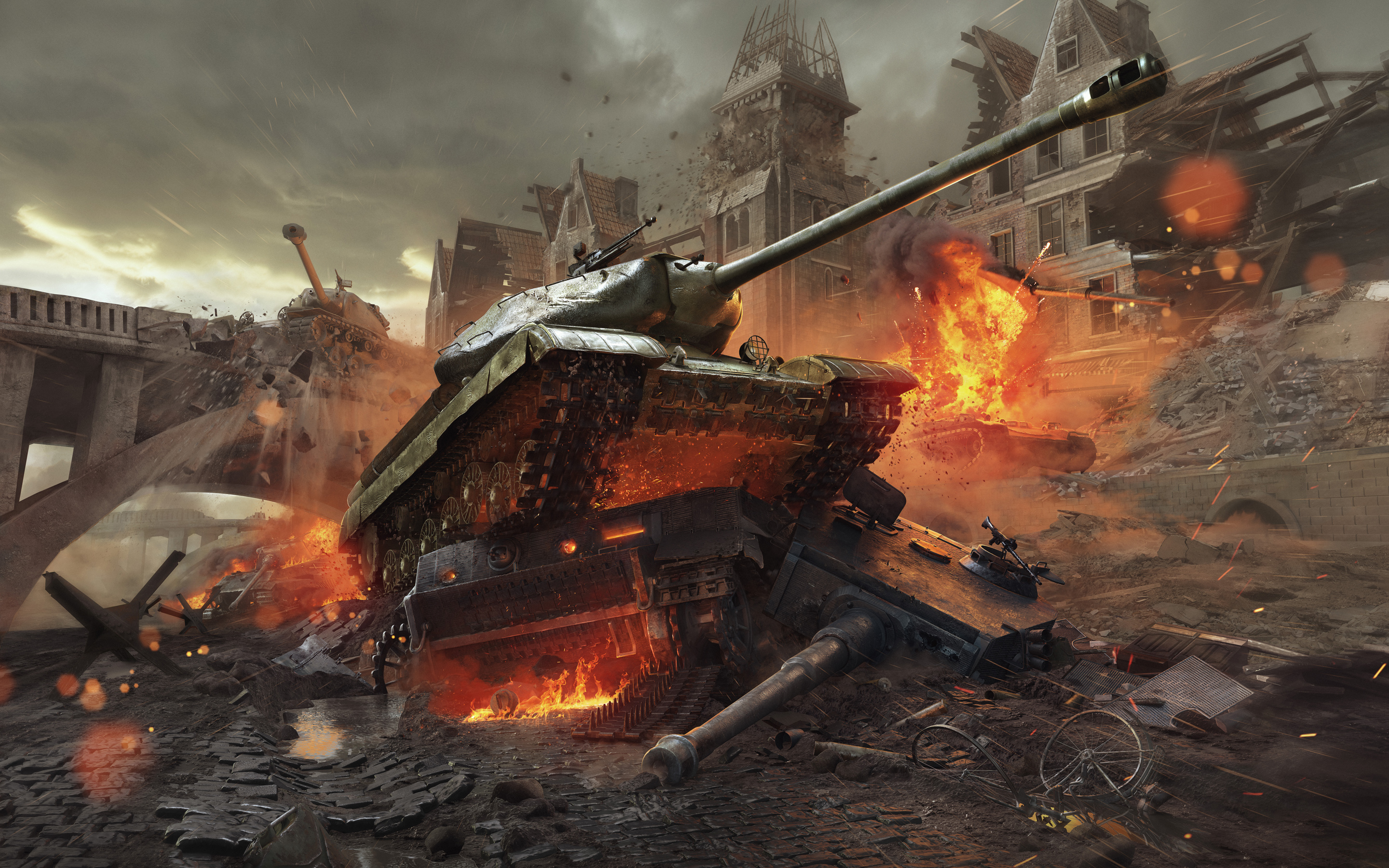 HD Wallpapers World of Tanks New Frontiers