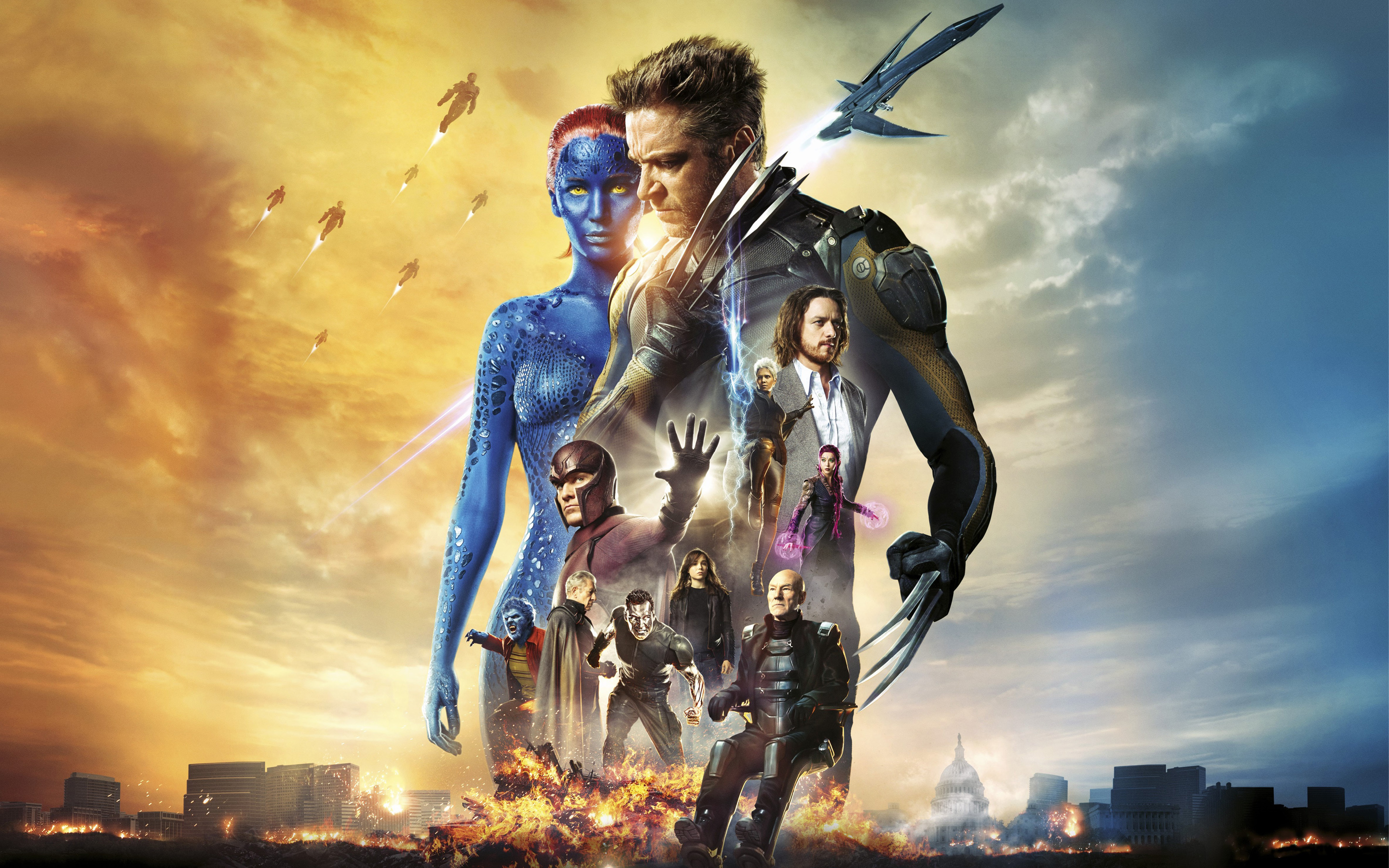 HD Wallpapers X Men Days of Future Past Movie