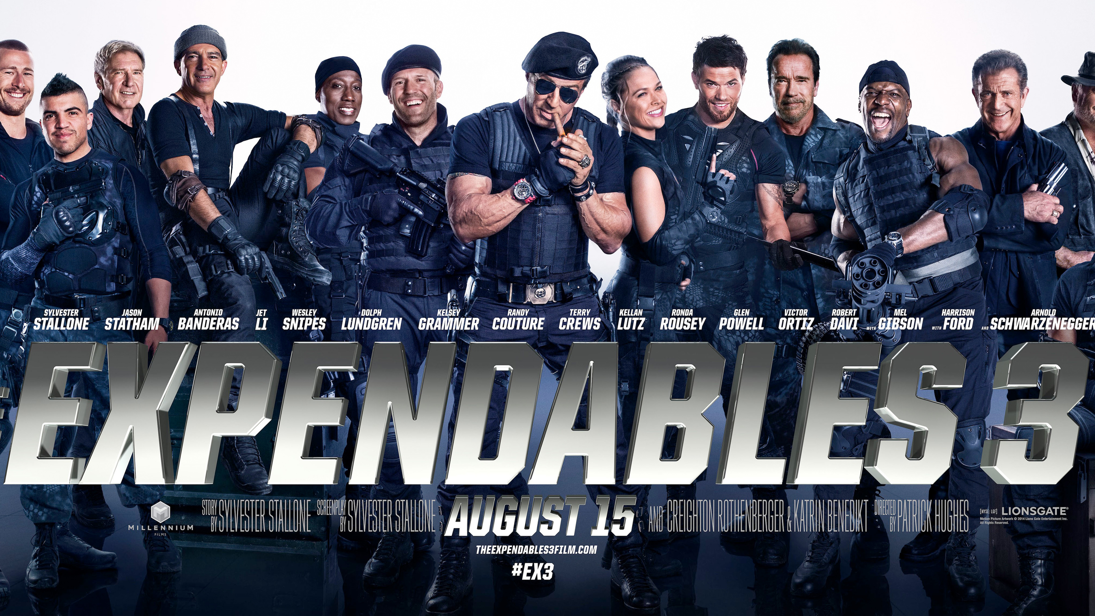 HD Wallpapers The Expendables 3 Banner