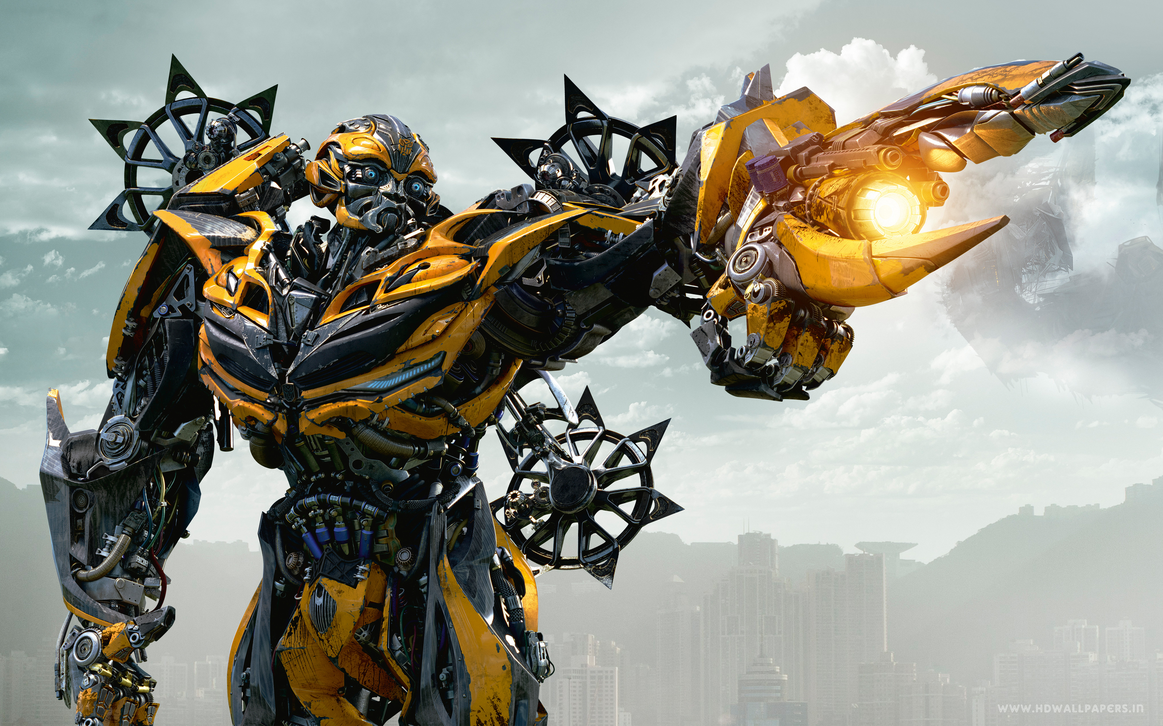 HD Wallpapers Bumblebee in Transformers 4 Age of Extinction