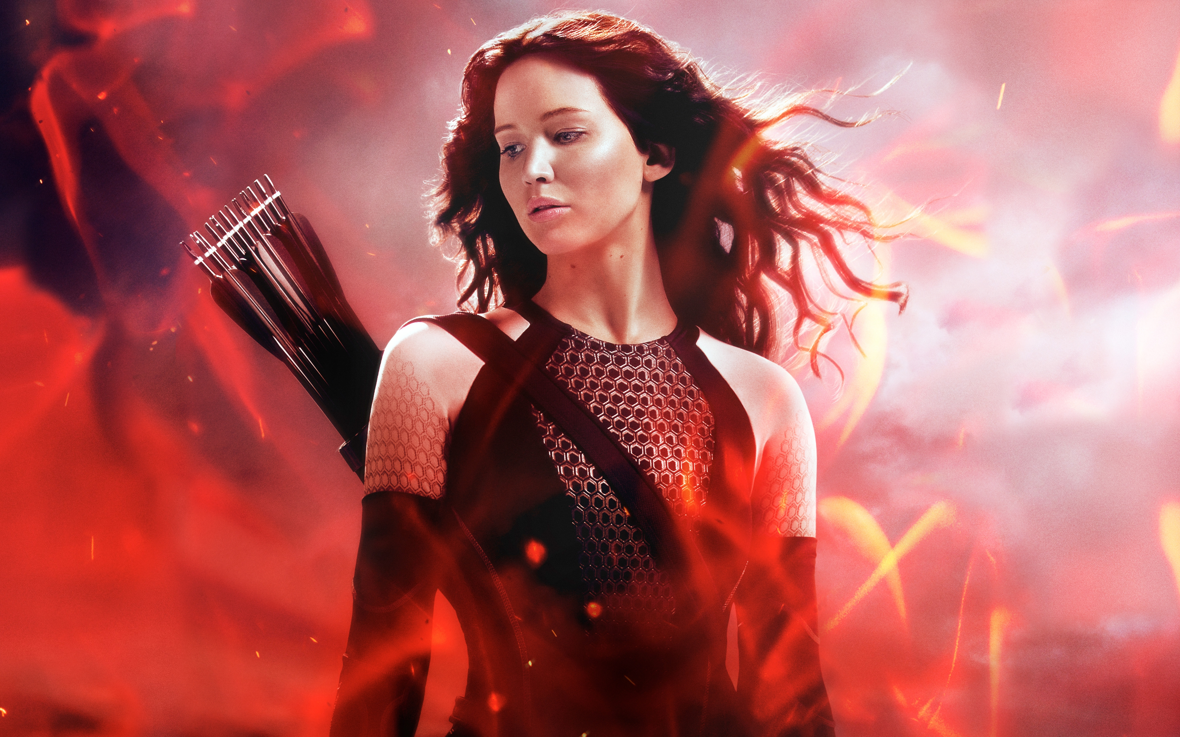 HD Wallpapers Katniss in The Hunger Games Catching Fire