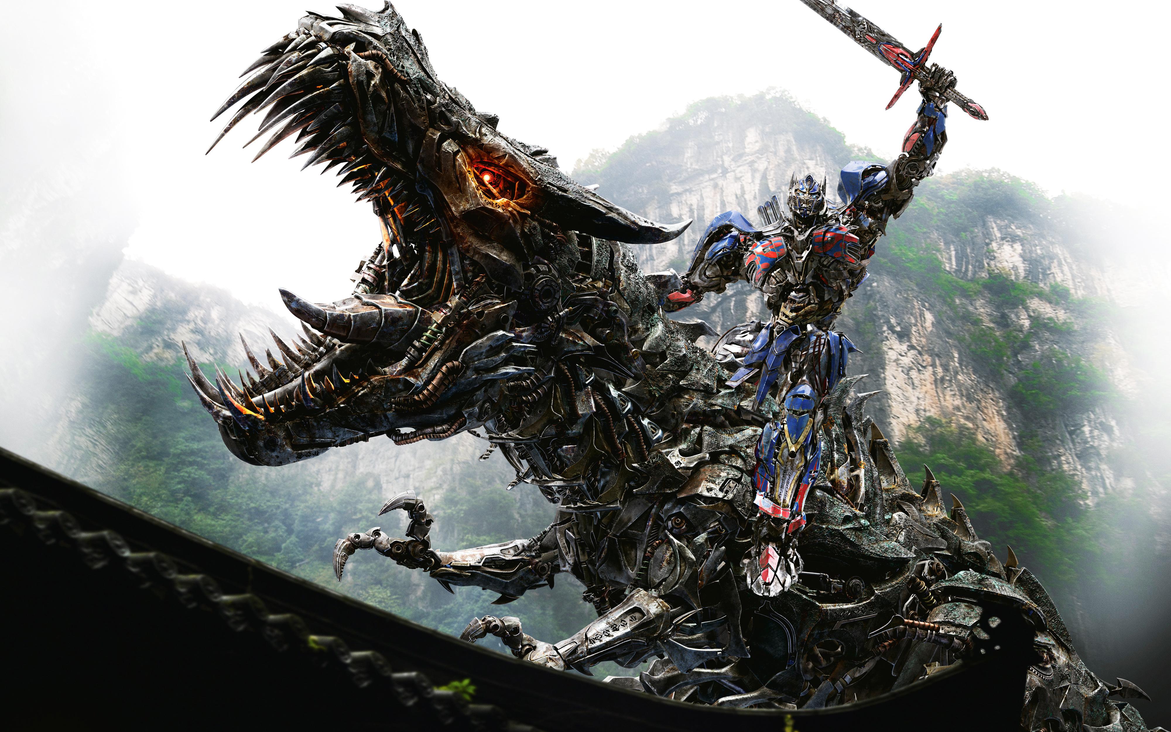 HD Wallpapers Optimus Prime on Dinobot